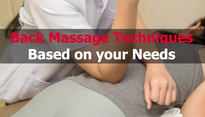 back massage techniques